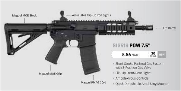 SIG516 PDW SBR