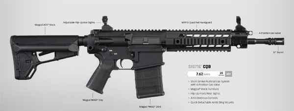 Sig716 CQB SBR